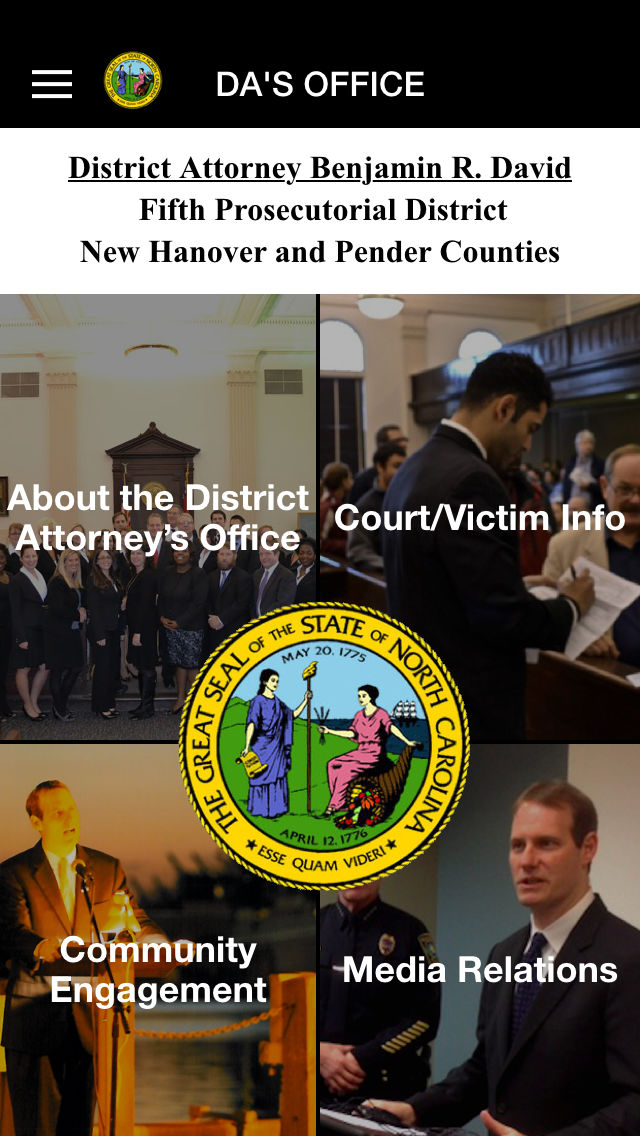 Fifth Prosecutorial District Of North Carolina