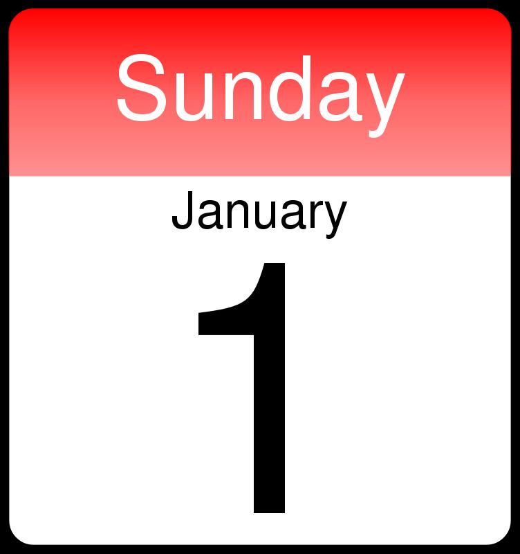 Free Clipart  Day Calendar
