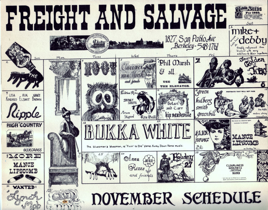 Freight And Salvage