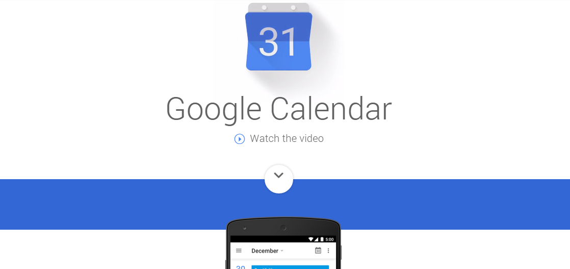 Google Updates Calendar App For Android With Material Design
