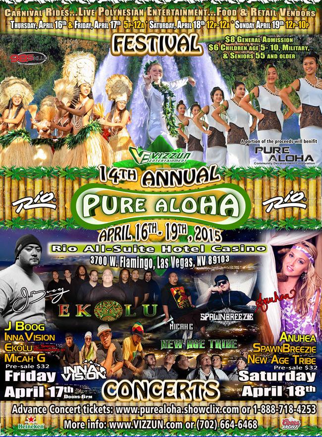 Hawaiian Concert Guide Concert Calendar