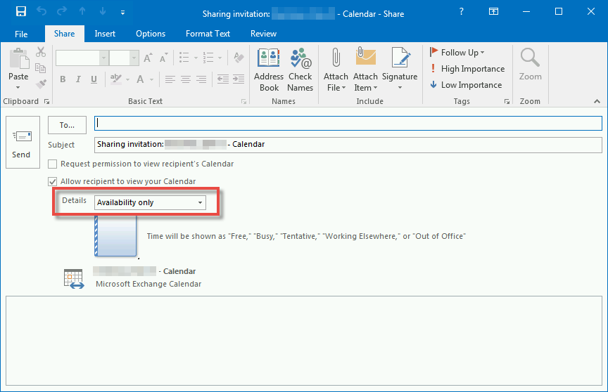 How Do I Share My Calendar In Outlook 2016 – Enrollment Services