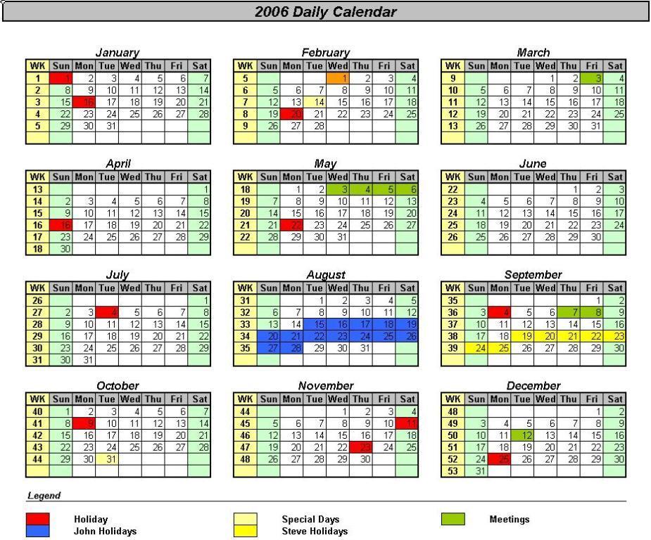 Calendar In Excel : Insert calendar in excel template