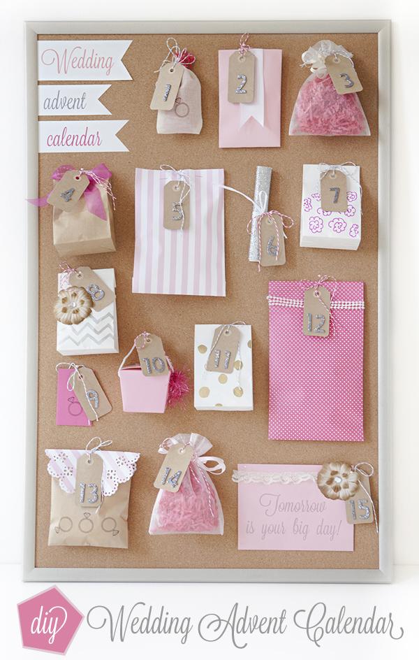 How To Make A Wedding Advent Calendar!