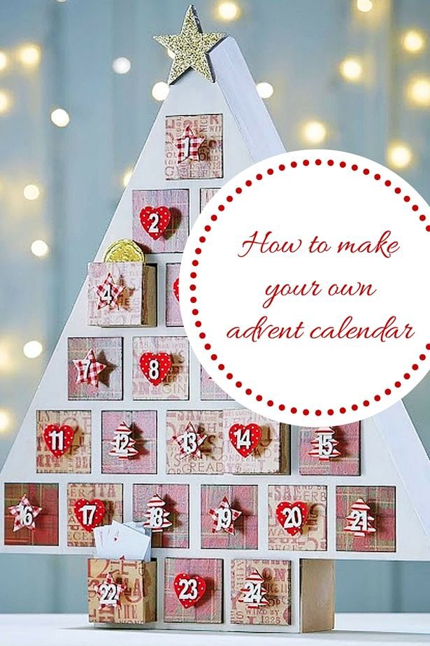 How To Make Your Own Christmas Advent Calendar In 3 Easy Steps