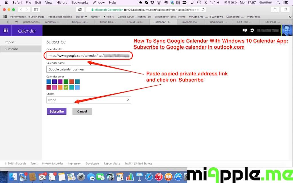 How To Sync Google Calendar With Windows 10 Calendar App