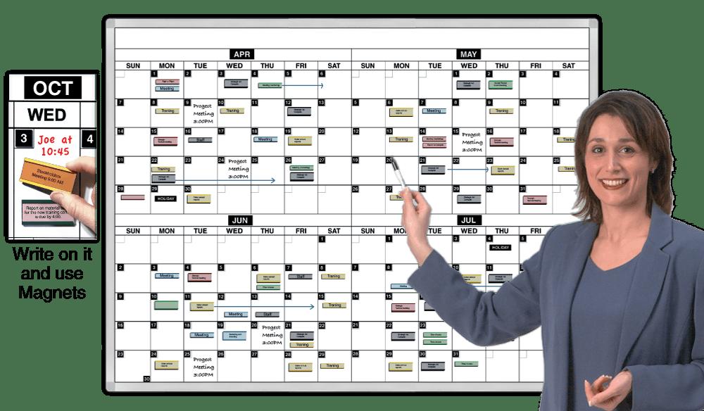 Large Dry Erase Calendars