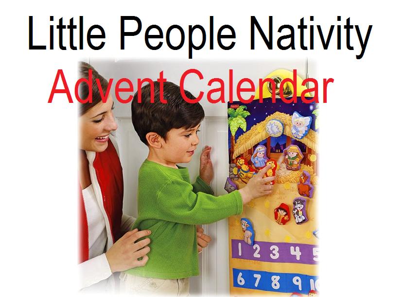 Little People Nativity Advent Calendar