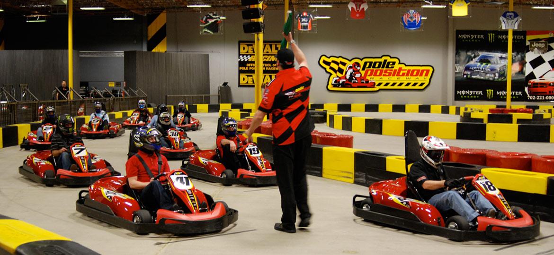 Long Island Go Karts, Team Building Long Island – Pole Position