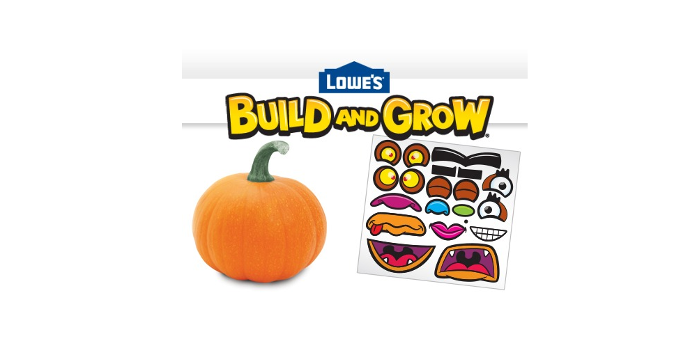 Lowe's Build & Grow Clinic Free Pumpkin Carving Demonstration On