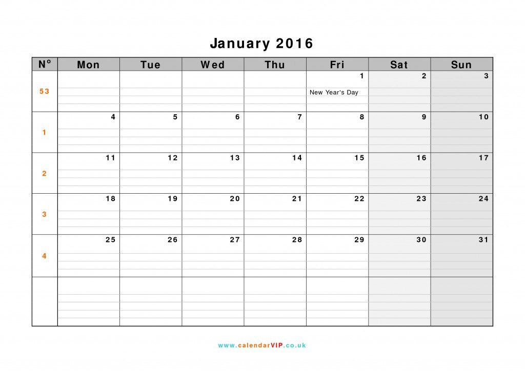 Make Your Own Calendar Online And Print