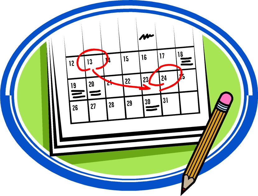 Mark Your Calendar Clip Art