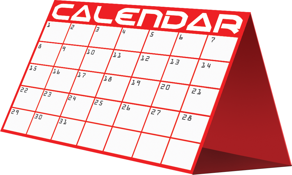 Mark Your Calendar Clipart Image 4 5