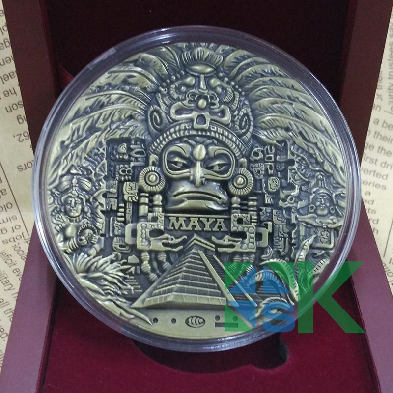 New Design 80 10mm Mayan Calendar Prophecy Mayan Old Cultural
