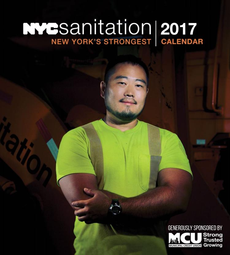 Nyc Sanitation Department Launches Its New 2017 Calendar