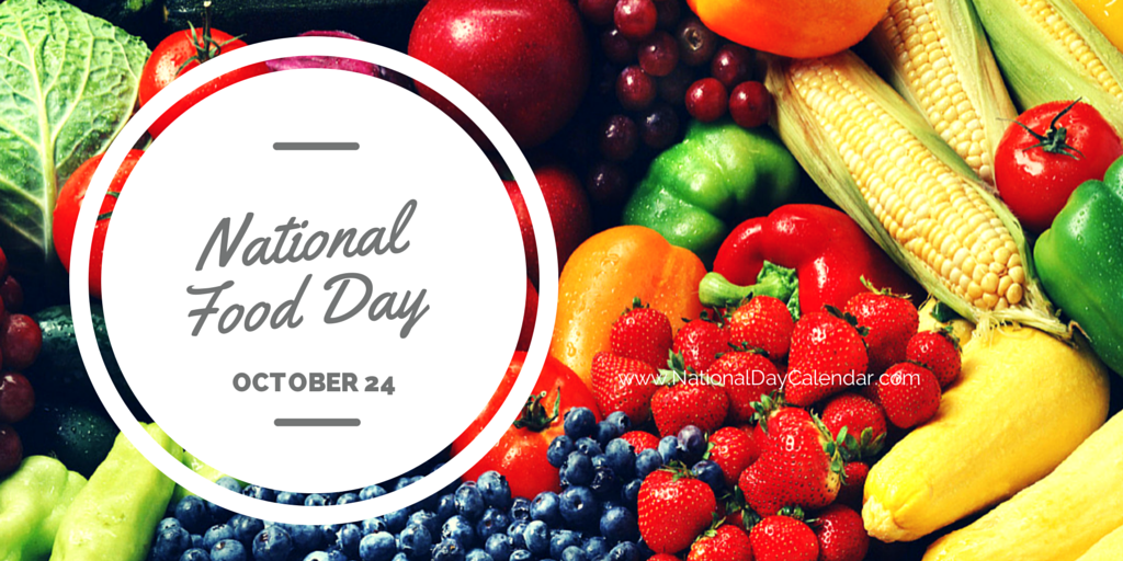 October 24, 2014 – National Food Day – National Bologna Day