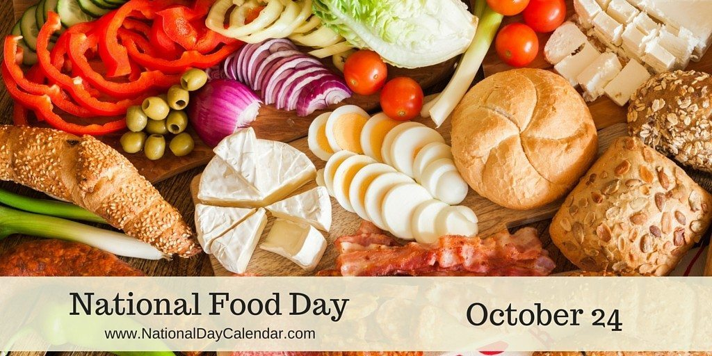 October 24, 2015 – National Food Day – National Bologna Day
