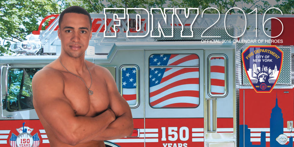 Official Fdny 2016 Calendar Of Heroes