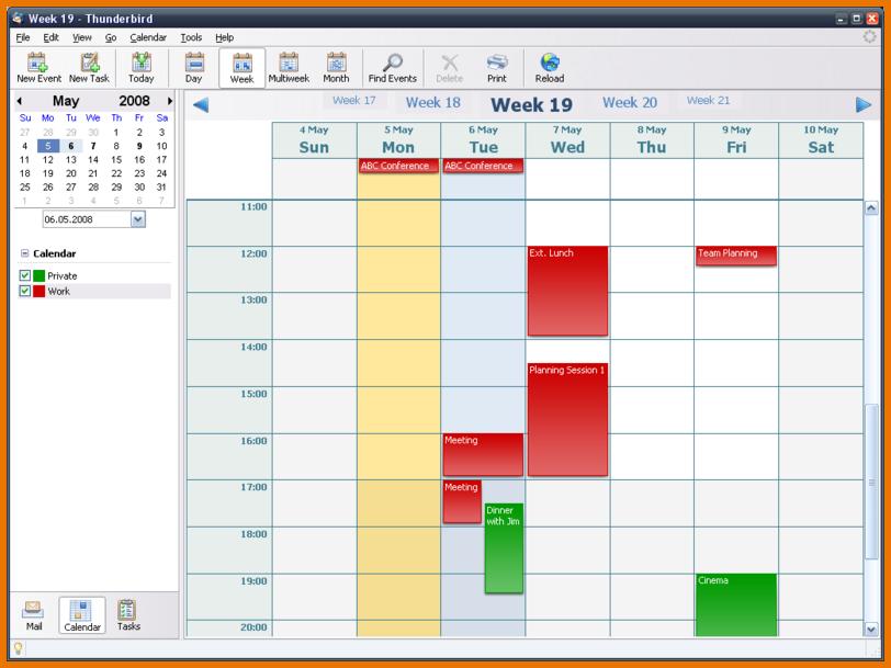 Open Office Calendar Template 800px Week Png