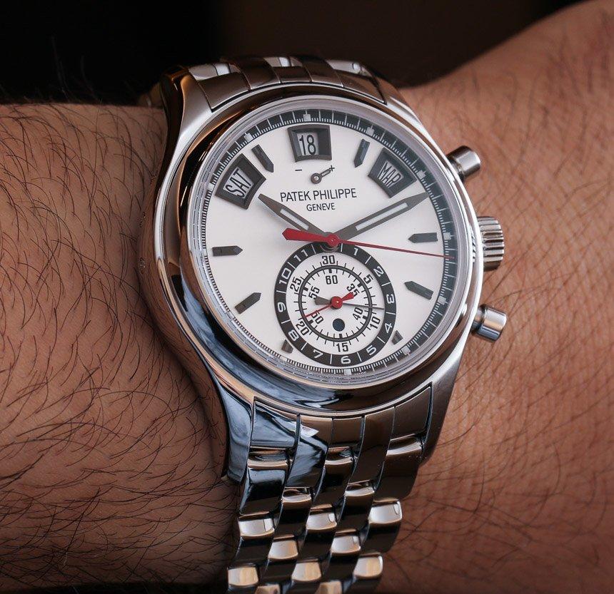 Patek Philippe Annual Calendar Chronograph 5960 Steel Watch For