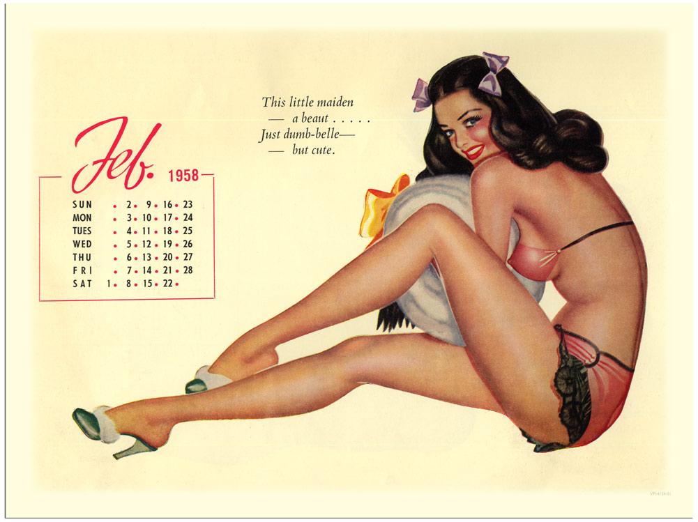Pin Up Art And Calendar Girls
