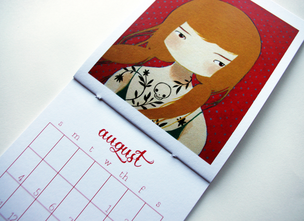 The 2013 Calendar Is Here! + A Diy Set Of Monthly Calandar Blanks