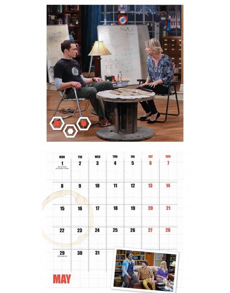 The Big Bang Theory Official 2017 Calendar