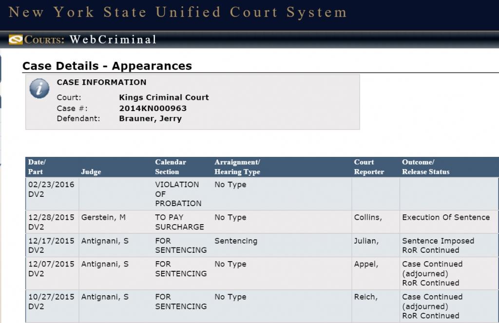 The Wake County Criminal Court Calendar