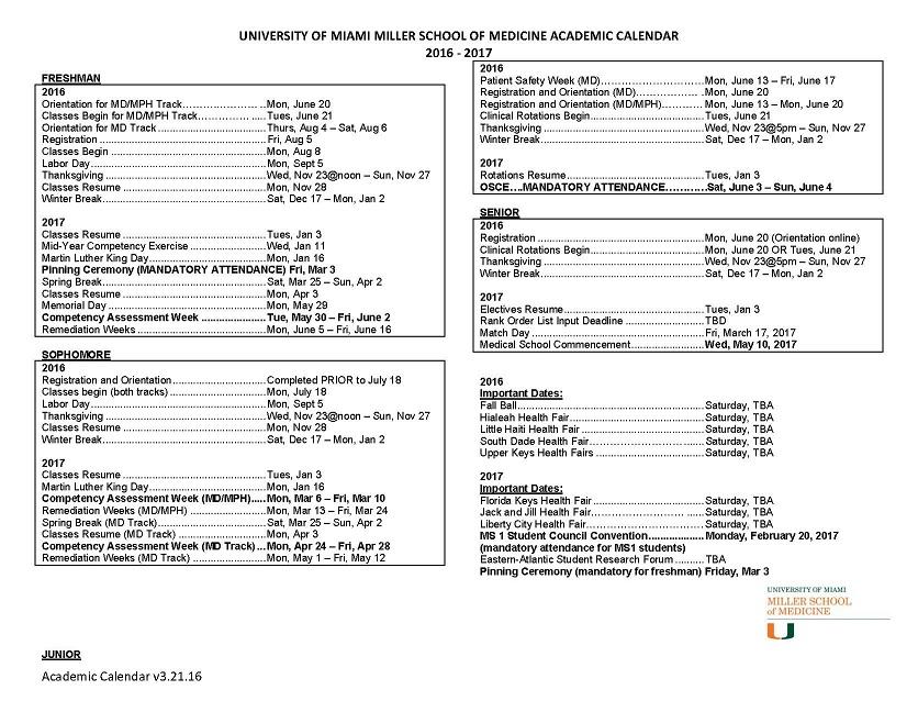 University Of Florida Calendar Academic