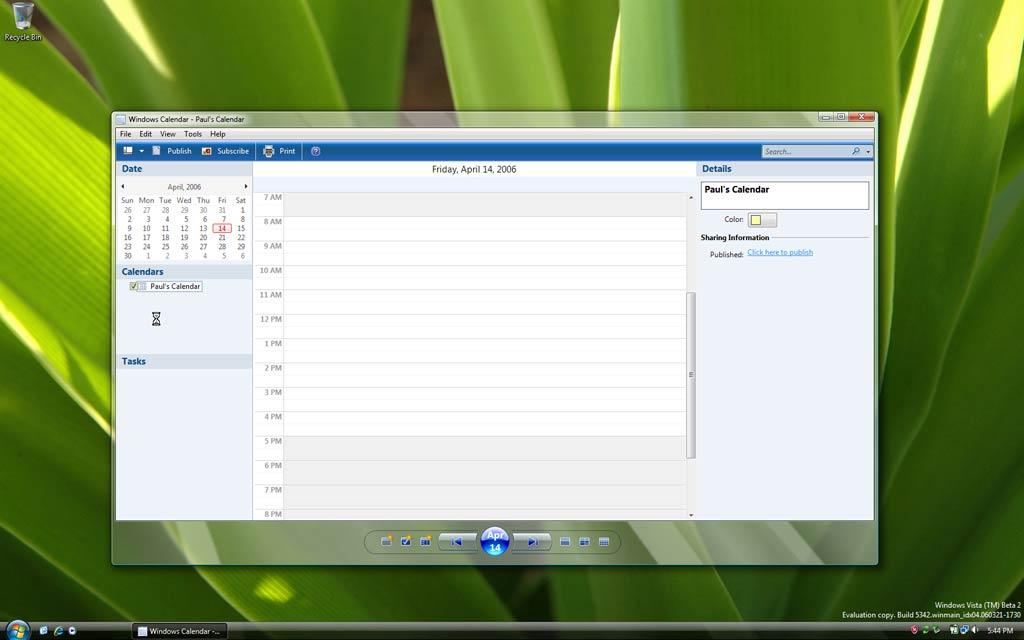 Обзор Windows Vista February 2006 Ctp (сборка 5308 5342) новые