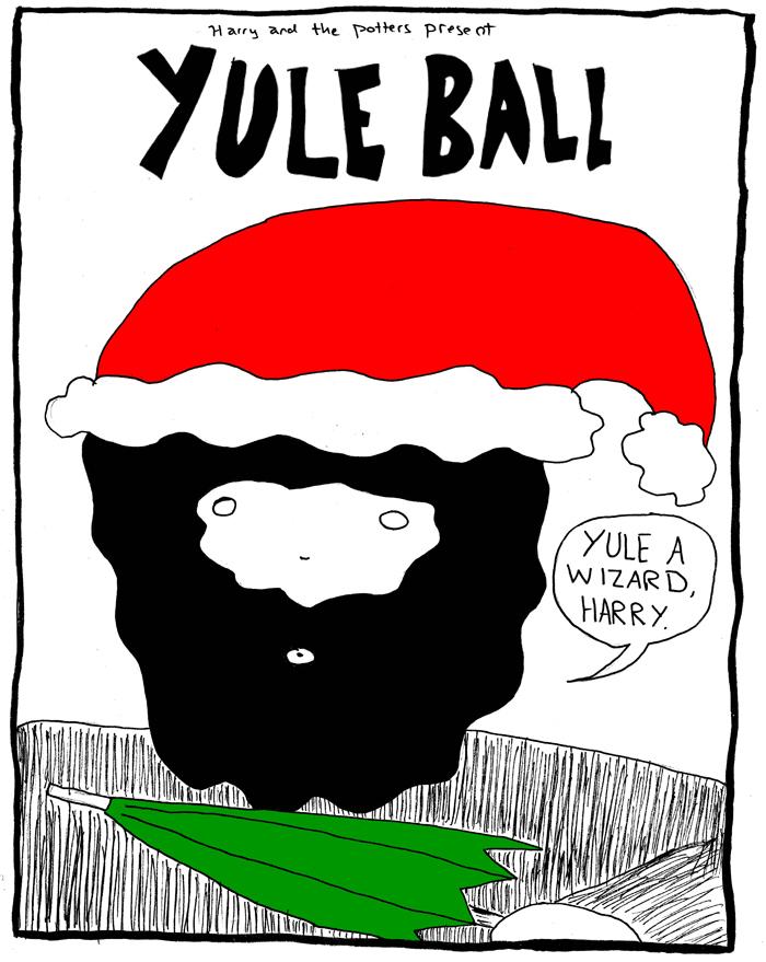 Yule Ball Calendar 2014 December 20