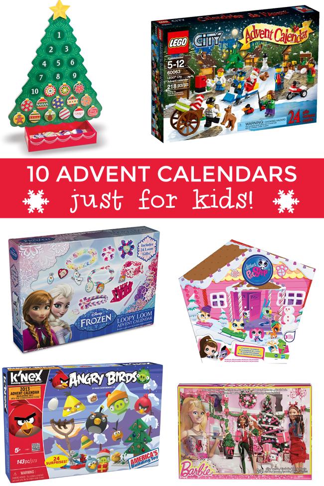 10 Super Cool Advent Calendars For Kids