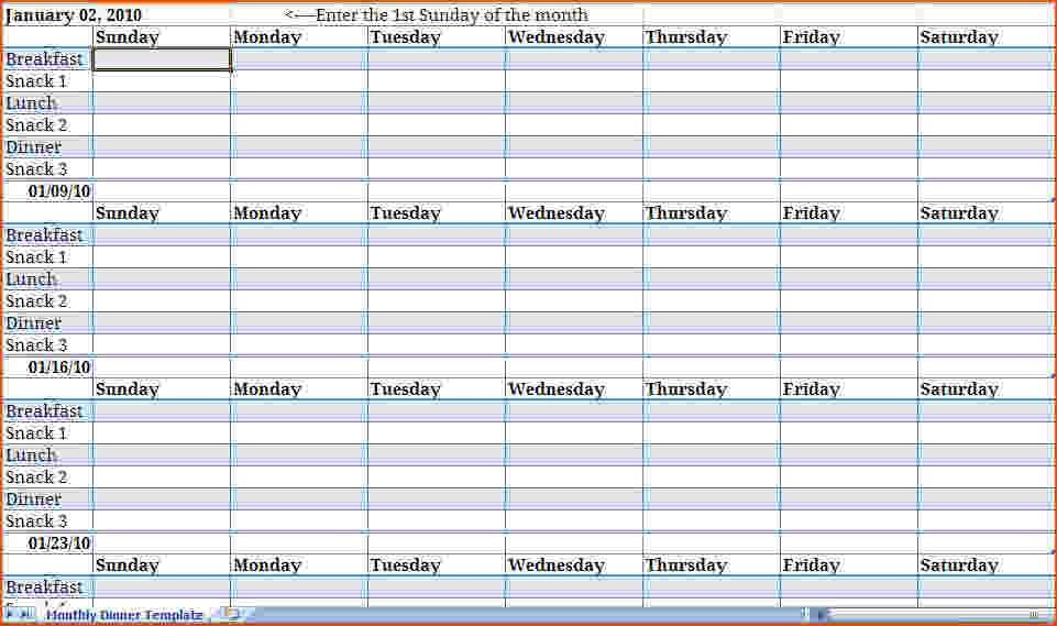 6 Month Calendar Template  Best Photos Of Nine Week Calendar