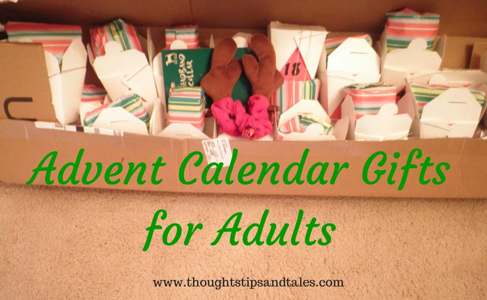 Adult Advent Calendar Gift Ideasthoughts, Tips And Tales