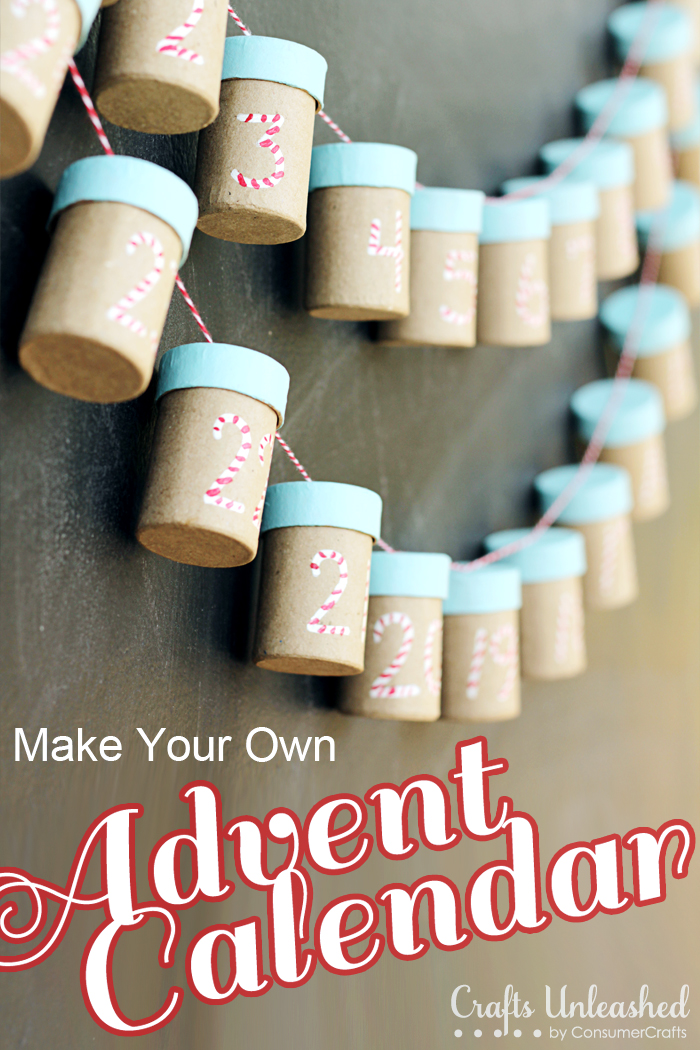 Advent Calendar  Make Your Own And Use Year After Year
