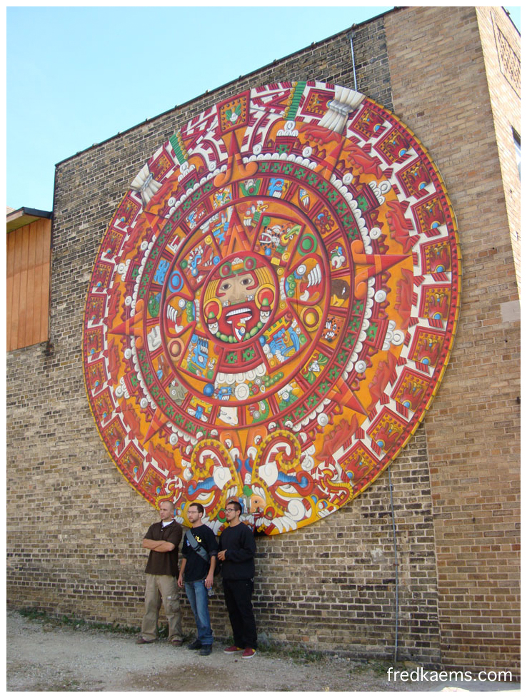 What is the aztec calendar calendar template 2018 for Aztec mural tattoos