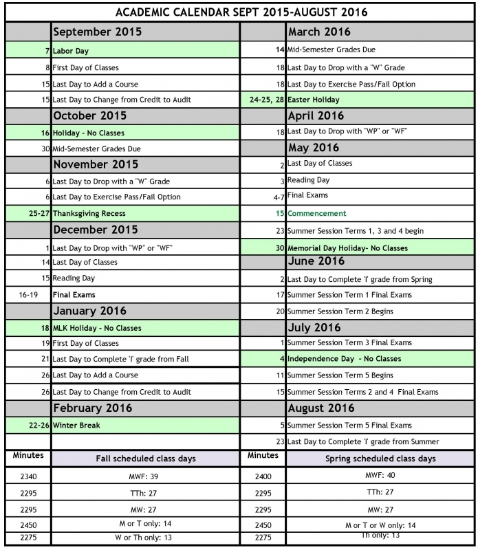 Board Of Education Holiday Calendar Nyc 2015