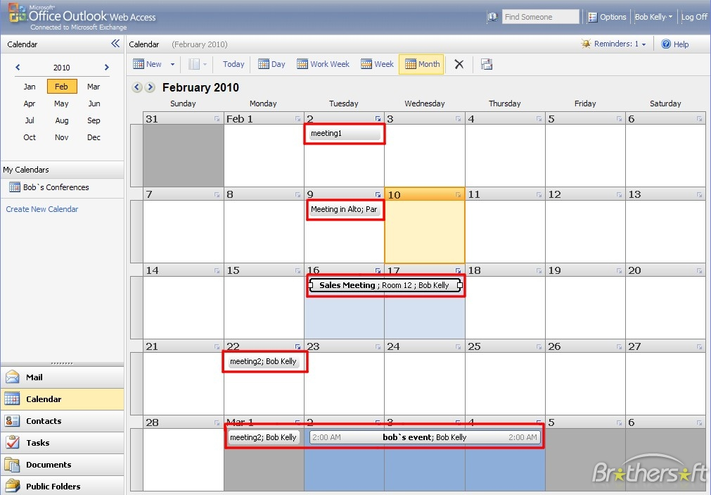Download Free Virto Ajax Calendar For Sharepoint 2010, Virto Ajax