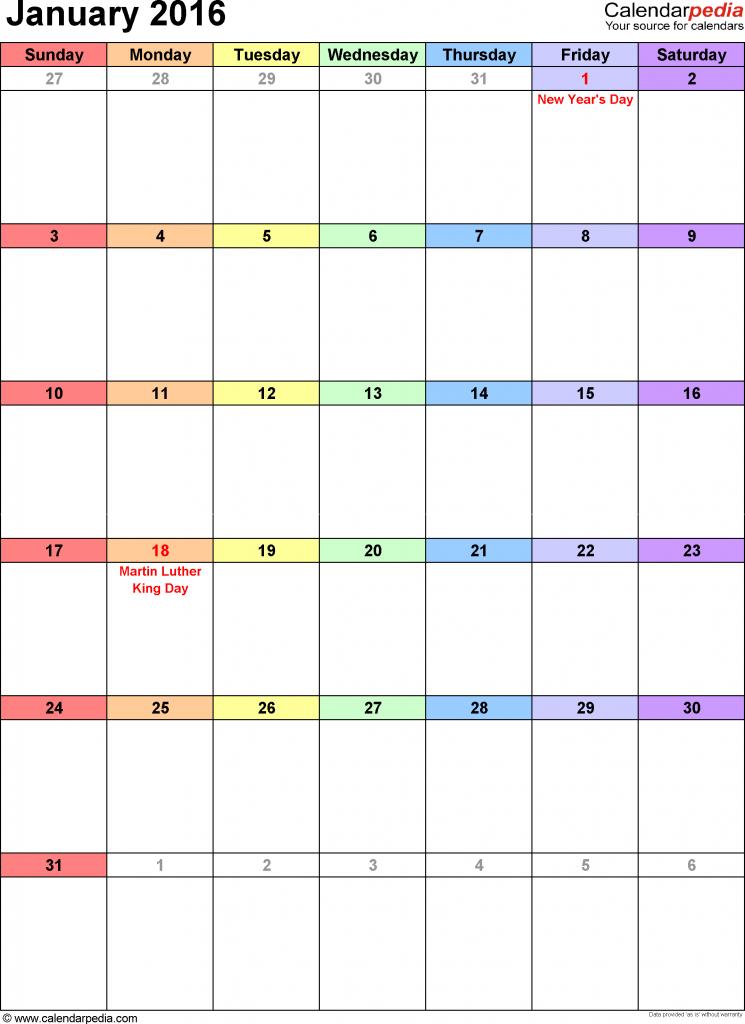 Make My Own Online Calendar