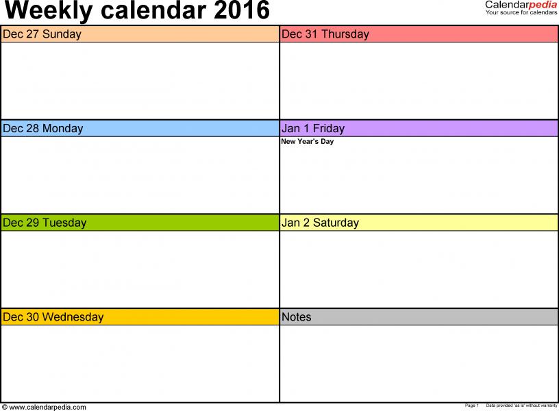 Make Your Own Calendar Printable » Calendar Template 2017