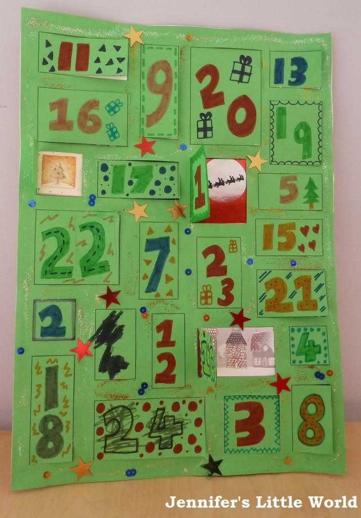 Make Your Own Wooden Advent Calendar