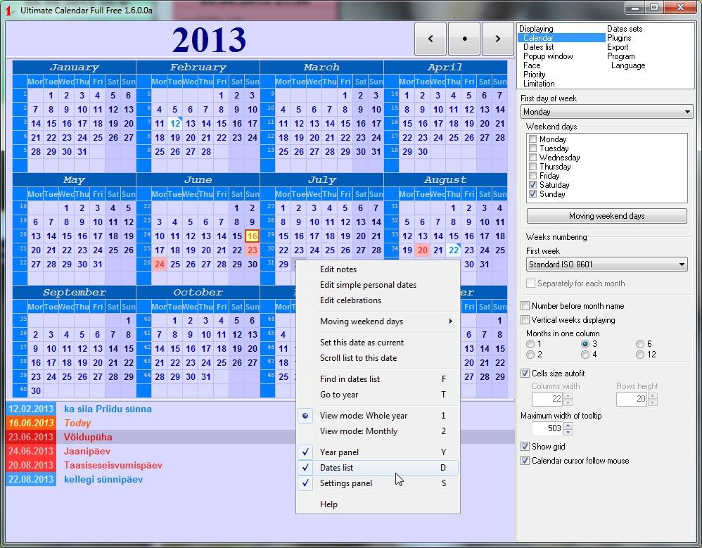 Microsoft Word Calendar Wizard Template
