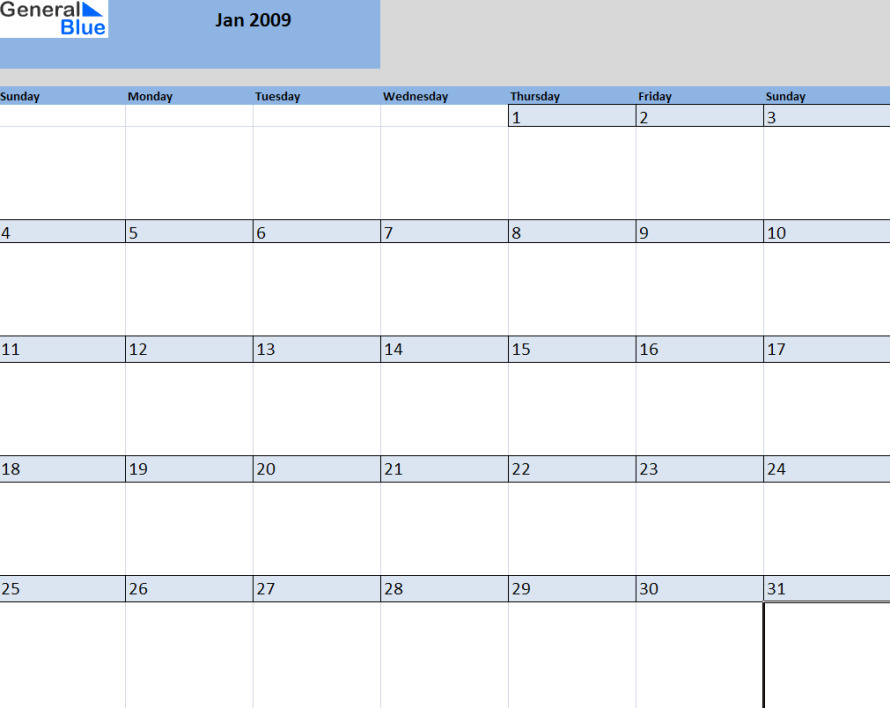 Month Templates  Three Months Blank Calendar Template Page Custom