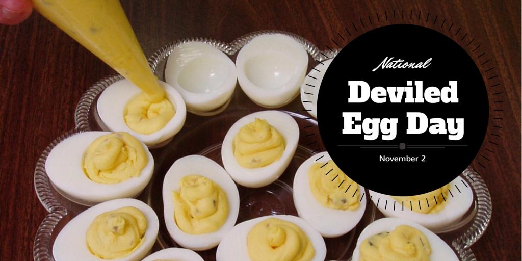 November 2, 2014 – National Deviled Egg Day – Daylight Saving Time