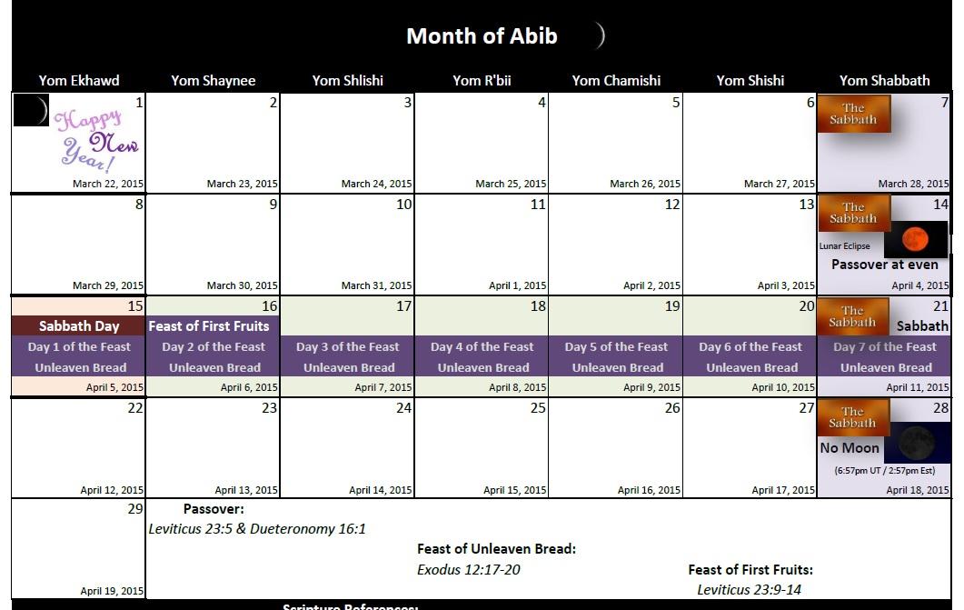 October 2016 Calendar With Jewish Holidays