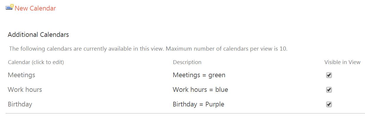 Sharepoint Calendar Color Coding For Non