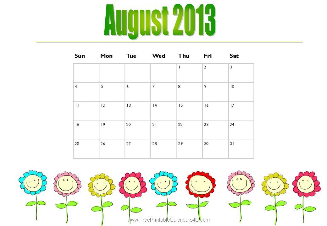 Special Days Calendar