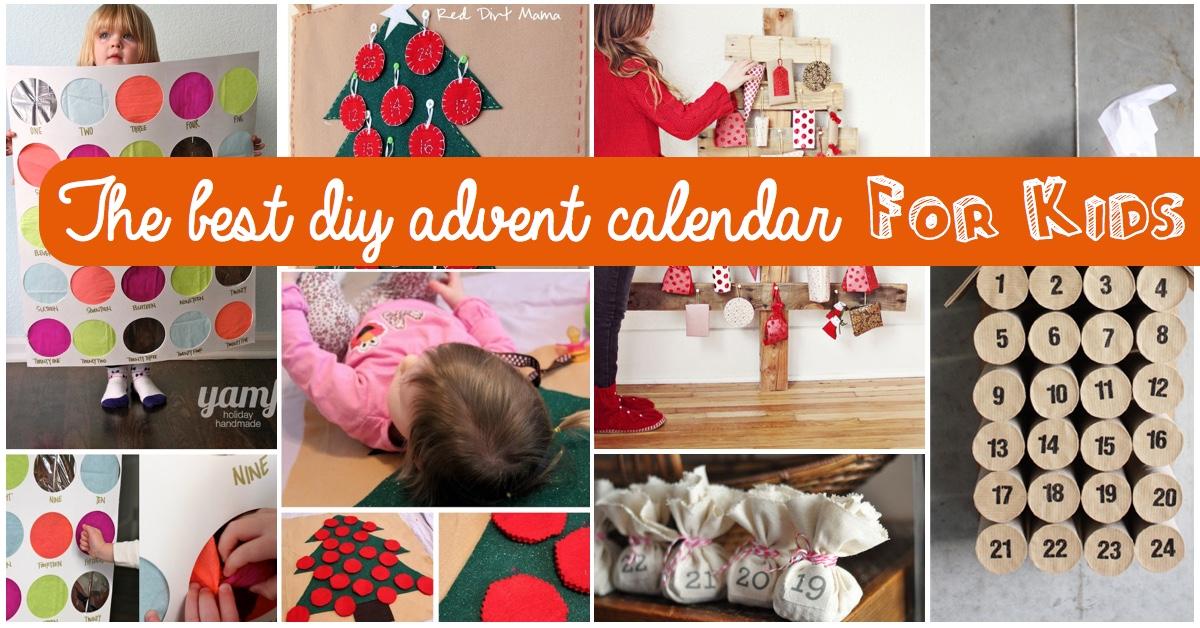 Top 15 Ideas For The Best Diy Advent Calendar For Kids – Cute Diy