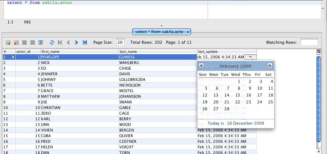 Van Couvering Is Not A Verb  Calendar Date Picker In Netbeans Data