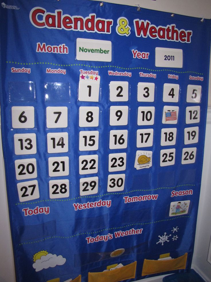 1000+ Ideas About Kindergarten Calendar Activities On Pinterest